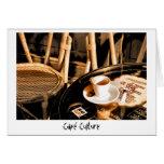 Cultura de Café Felicitaciones