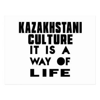 CULTURA DE KAZAKHSTANI ES UNA MANERA DE VIDA TARJETAS POSTALES