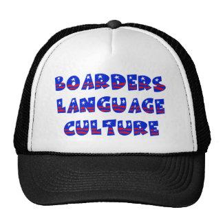 Cultura de la lengua de los huéspedes gorra