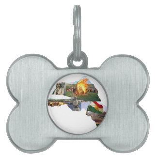 cultura del kurdistan placas de mascota