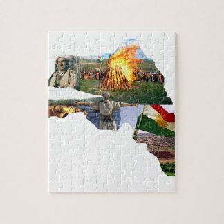 cultura del kurdistan rompecabezas