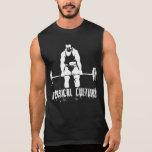 Cultura física - hombre enorme Deadlifting - Camisetas Sin Mangas
