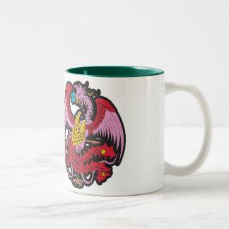 Cultura NO.19, zazzle.com/jeffchen del dragón Taza