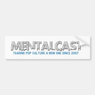 Cultura Pop de rasgado de MentalCast un nuevo Etiqueta De Parachoque