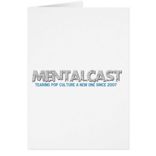 Cultura Pop de rasgado de MentalCast un nuevo Tarjeta De Felicitación