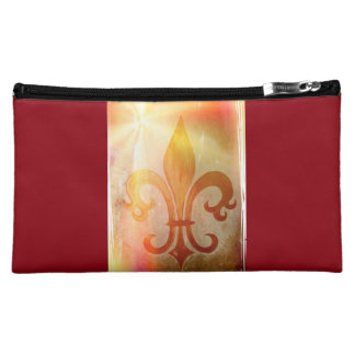 """Cultural bag """"golden lily"""" wine-red"""