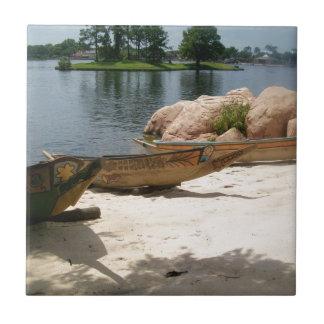 Cultural Canoe Tile
