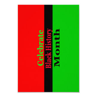 Cultural Celebration BHM Party Invitations