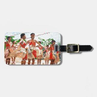 Cultural Dance in Papua New Guinea Bag Tag