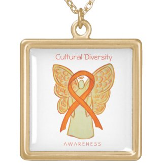 Cultural Diversity Awareness Art Jewelry Necklace