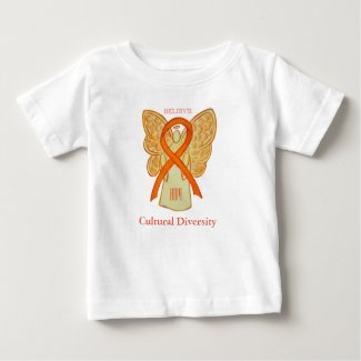 Cultural Diversity Awareness Orange Ribbon Shirt