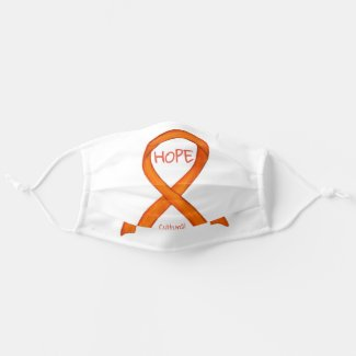 Cultural Diversity Awareness Ribbon Face Masks