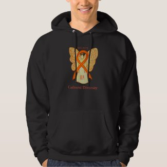Cultural Diversity Awareness Ribbon Sweatshirt