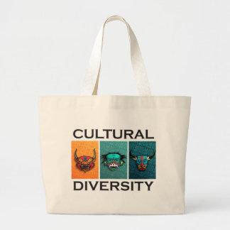 Cultural Diversity Large Tote Bag