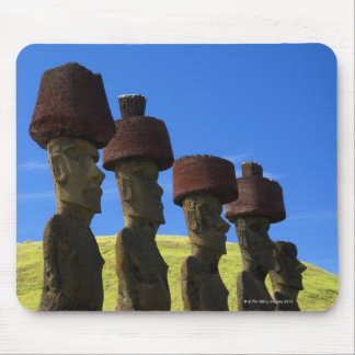 Cultural statues, Easter Island, Polynesia Mouse Pad