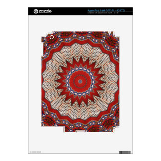 Cultural, Tribal, Indian, Colorful Vintage Print iPad 3 Decals