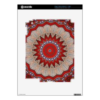 Cultural, Tribal, Indian, Colorful Vintage Print Skins For iPad 2
