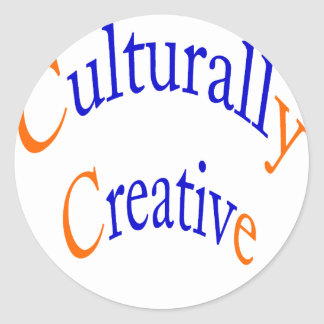 Culturally Creative Round Stickers