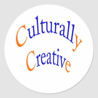 Culturally Creative Stickers