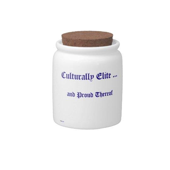 Culturally Elite Candy Jar