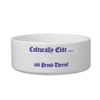 Culturally Elite Dish Cat Water Bowl