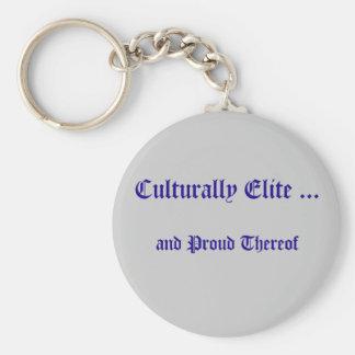 Culturally Elite Keychain Keychains