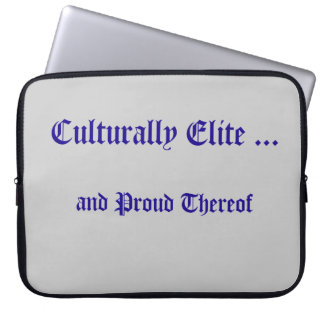 Culturally Elite Laptop Sleeve