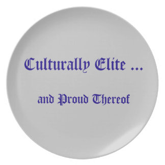Culturally Elite Plate