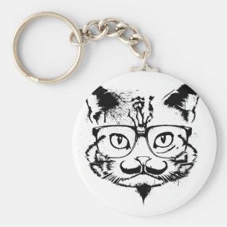 Culture Cat Basic Round Button Keychain