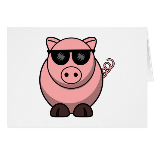 Culture Pig Official Stationery Note Card