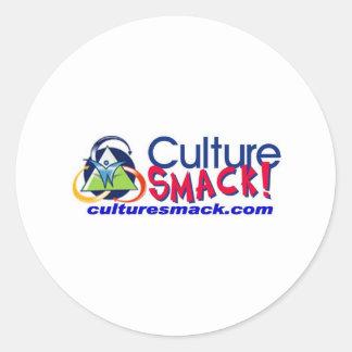 Culture Smack! Zazzle Classic Round Sticker