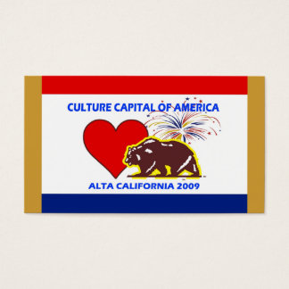 CultureCapital 2009 Notecard Business Card