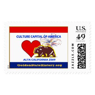 CultureCapitalAmerica 2009 Alta Ca... - Customized Postage