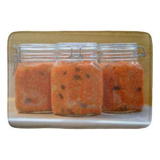 Cultured Carrots Bathroom Mat