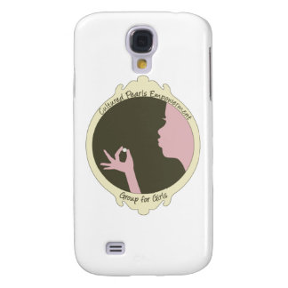 Cultured Pearls Logo Item Galaxy S4 Cases