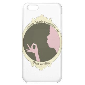 Cultured Pearls Logo Item Case For iPhone 5C
