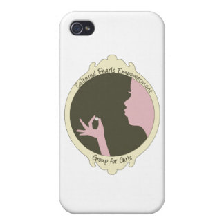 Cultured Pearls Logo Item iPhone 4/4S Cover