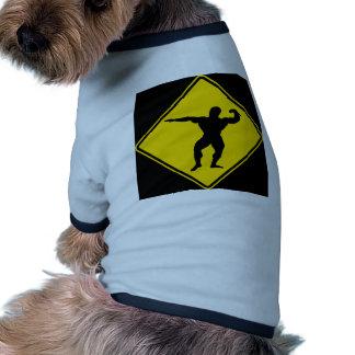 """""""Culturista """" Camiseta Con Mangas Para Perro"""