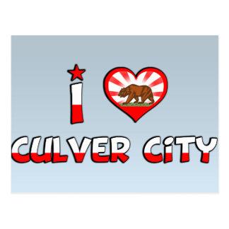 Culver City, CA Postcard