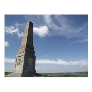 culver cliff iow monument postcard