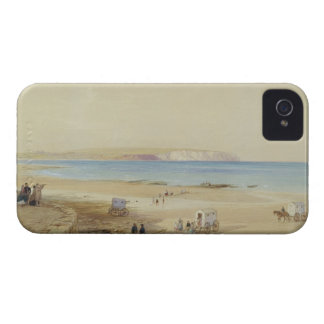 Culver Cliff, Isle of Wight (w/c, pen & ink, bodyc Case-Mate iPhone 4 Case