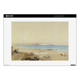 """Culver Cliff, Isle of Wight (w/c, pen & ink, bodyc Decal For 15"""" Laptop"""