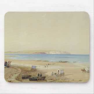 Culver Cliff, Isle of Wight (w/c, pen & ink, bodyc Mouse Pad