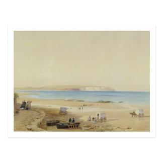 Culver Cliff, Isle of Wight (w/c, pen & ink, bodyc Postcard