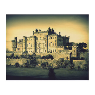 Culzean Castle - Wood Canvas