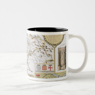 Cumberland and the Ancient City of Carlile Two-Tone Coffee Mug