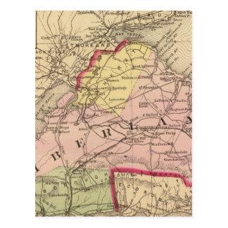 Cumberland Co, NS Postcard