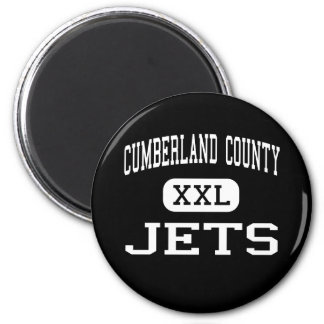 Cumberland County - Jets - High - Crossville 2 Inch Round Magnet
