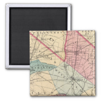 Cumberland County, NJ 2 Inch Square Magnet