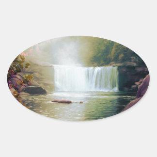 Cumberland Falls, Kentucky Oval Sticker